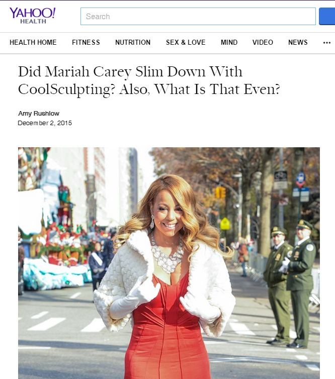 Mariah-Carey-Coolsculpting Did Mariah Carey Use CoolSculpting to Slim Down? | Northern Virginia