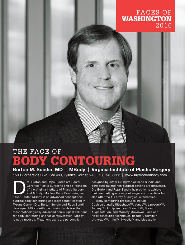 Burton-M.-Sundin-MD-MBody-Virginia-Institute-of-Plastic-Surgery-Washingtonian Faces of Washington DC: The Face of Body Contouring Coolsculpting® | Northern Virginia
