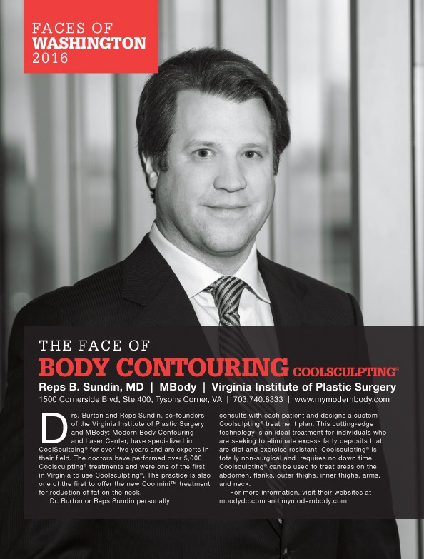 Reps-B.-Sundin-MD-MBody-Virginia-Institute-of-Plastic-Surgery-Washingtonian Faces of Washington DC: The Face of Body Contouring Coolsculpting® | Northern Virginia