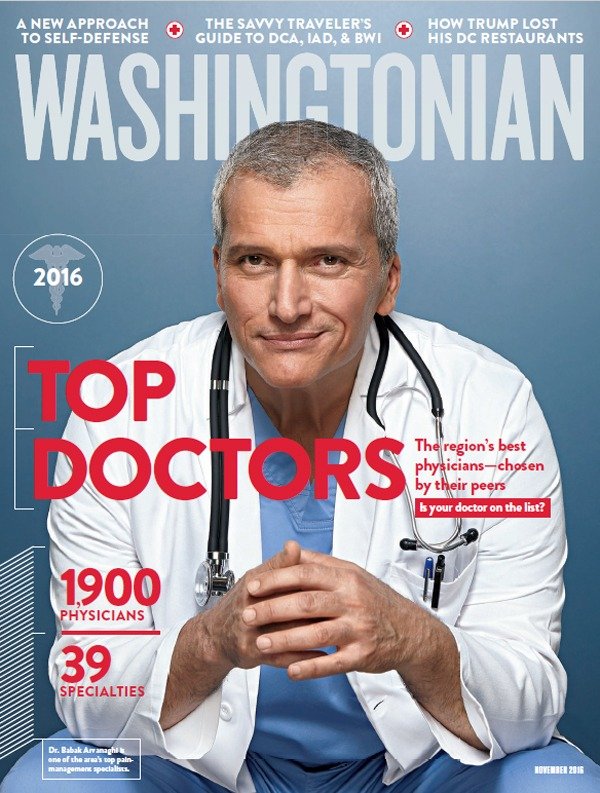 "Top-Washington-DC-Plastic-Surgeon Drs. Burton and Reps Sundin Featured in November Washingtonian Magazine, Top Docs Issue: ""Best Doctors in Washington"" Section 
